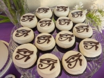 Egyptian Eye Cupcakes